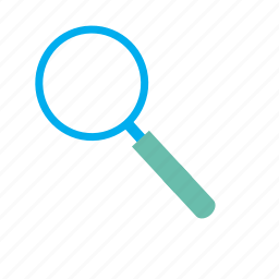 explore, find, inquiry, magnifier, search, view, zoom icon