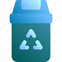 appliance, bin, garbage, recycle, trash icon