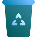 appliance, bin, garbage, recycle, trash