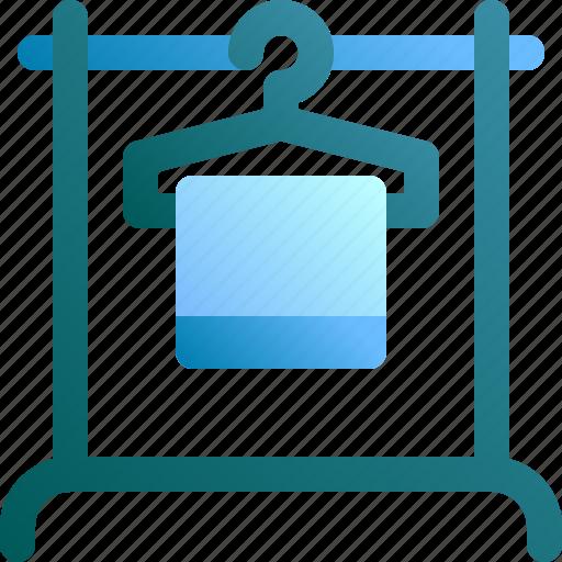 cloth, display, hang, hanger, rack icon