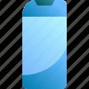 bottle, care, clean, hair, shampoo icon