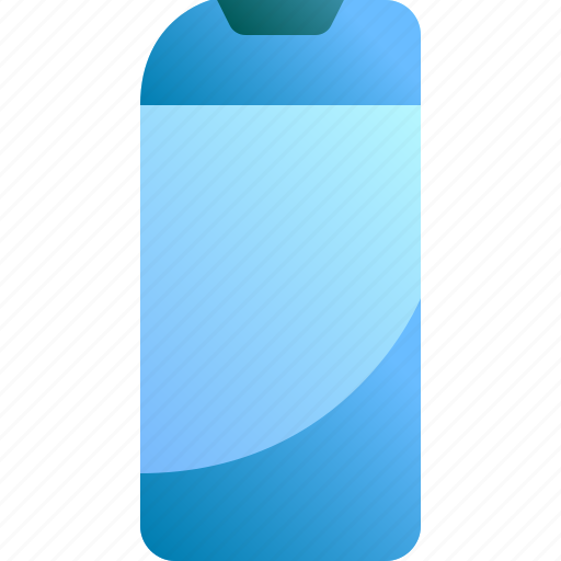 bottle, care, clean, hair, shampoo icon