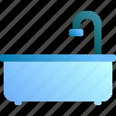 bath, bathroom, bathtub, tub, water