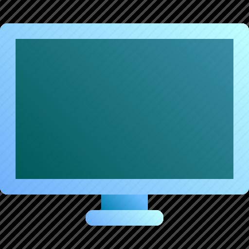 display, electronic, monitor, screen, tv icon