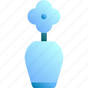 decoration, design, flower, plant, vase icon