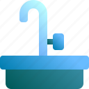 clean, faucet, toilet, wash, washbasin icon