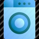 appliance, housework, laundry, machine, washing icon