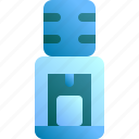 cold, dispenser, drink, hot, water icon