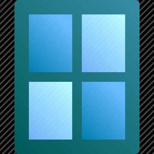 design, frame, home, interior, window icon