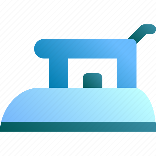 appliance, flatiron, housework, iron, laundry icon