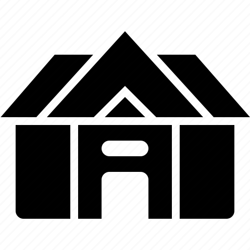 architecture, building, estate, home, house icon