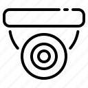 cctv, security, protection, protect, secure, safety, appliance icon