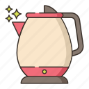 charging, electric, kettle, power icon