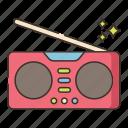 music, radio, sound, volume icon