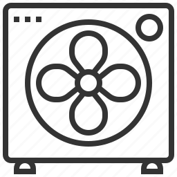 device, fan, hardware, technology icon