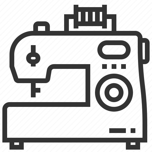 design, equipment, machine, sewing, tool icon