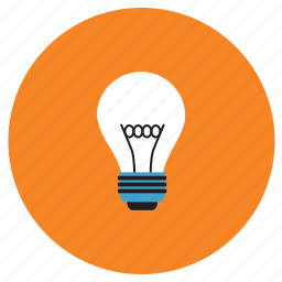 appliances, bulb, home, light icon