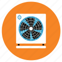 appliances, exhaust, fan, home icon