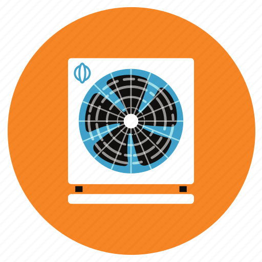 appliances, exhaust, fan, home icon