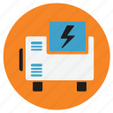 appliances, generator, home, power icon