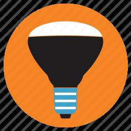 appliances, bulb, home, led icon
