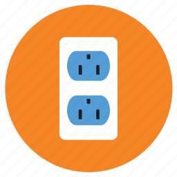 appliances, extension box, home, plug, point icon