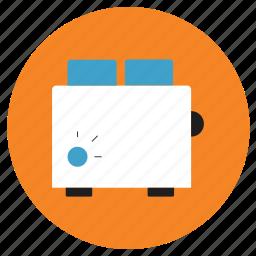appliances, home, toaster icon