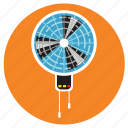 appliances, fan, home, wall icon