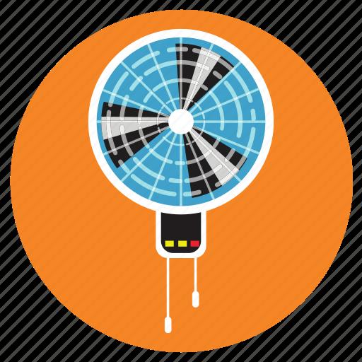 appliances, fan, home, wall icon