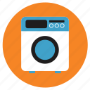 appliances, home, washing machine icon