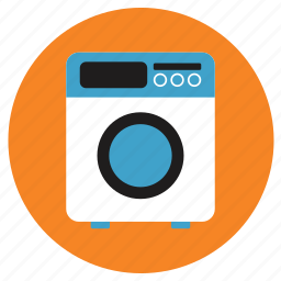 appliances, home, washing machine icon