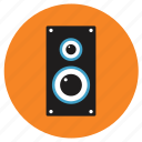 appliances, home, speaker icon