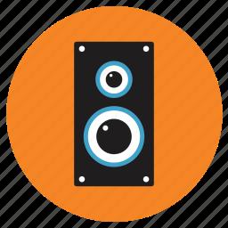 appliances, home, speaker icon