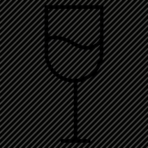 beverage, drink, glass, juice, juice tumbler icon