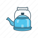 appliances, hot, kettle, kitchen, tea