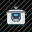 appliances, cooking, home, pan, pot