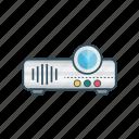 appliances, device, gadget, presentation, projector