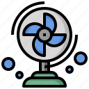 air, fan, furniture, household, tools, utensils icon