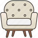 armchair, comfort, design, furniture, seat icon