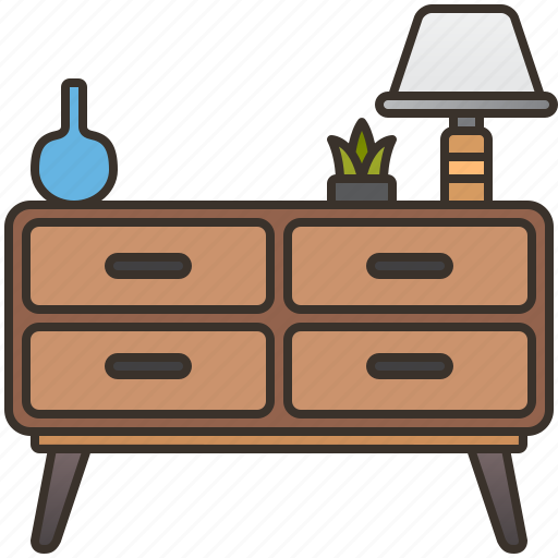 Cabinet, cupboard, drawer, furniture, home icon - Download on Iconfinder