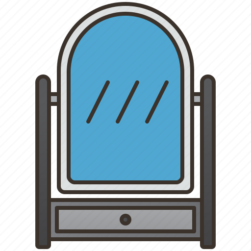 Beauty, glass, interior, mirror, reflection icon - Download on Iconfinder