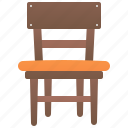chair, dining, furniture, home, seat