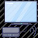 receiver, tv, signal, digital