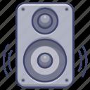 bass, moniter, speaker, stereo icon