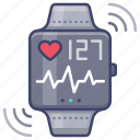 fitband, smart, sport, watch icon
