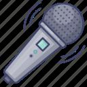 mic, karaoka, microphone, communication