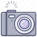 camera, digital, compact, photo