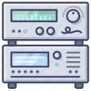 amplifier, control, media, stereo icon