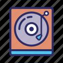 disc, music, player, vinyl