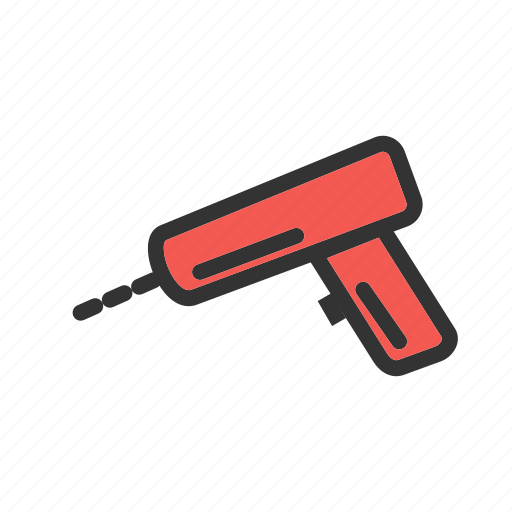 drill, drilling, electric, equipment, machine, power, work icon